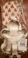 New Williams Sonoma Spatula Cookie Cutter Set Gingerbread Silicone  Medium