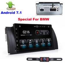 """9"""" Android 7.1 Car no-DVD Player GPS Radio Stereo for BMW E39 M5 E53 X5 5 Series"""