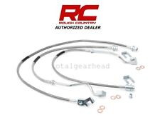 1999-2004 Ford F-250 F-350 4WD Rough Country Extended Brake Lines - SET [89717]