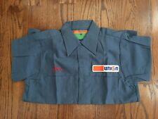 Vintage UNION 76 Gasoline Service Station Uniform Work SHIRT Unocal Petroleum