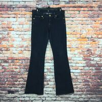 Citizens of Humanity Womens 29 Ingrid Stretch Low Waist Flare Stay Gold Jeans