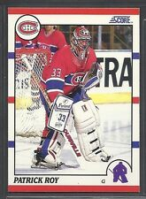 1990-91 Score Hockey - #10 - Patrick Roy - Montreal Canadiens
