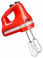KitchenAid KHM512HT 5-Speed Ultra Power Hand Mixer, Hot Sauce