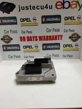 Vauxhall Opel  Z16XEP ECU 12230740 FCCY MT35E 1.0    +PIN CODE/TECH2 RESETED
