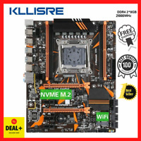 Kllisre X99 D4 Motherboard-Kombination mit Xeon E5 2678 V3 LGA2011-3 CPU 2...