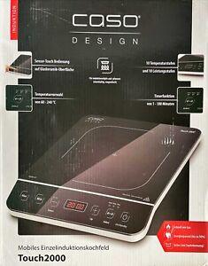 Caso Touch 2000 Kochplatte Einzel-Induktionsfeld