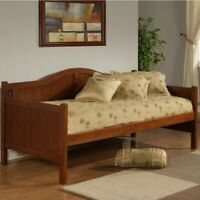 Hillsdale Staci Wood Daybed in Cherry Finish