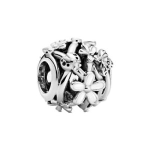 Hot Silver Cz European Charms Beads Fit Bracelet Necklace Jewelry Making Diy G09