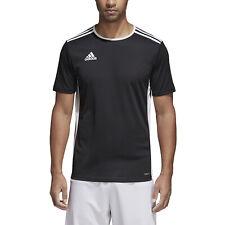 Adidas Entrada 18 t-shirt nera in Cotone da uomo CF1035 91971
