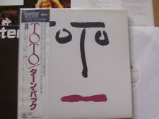TOTO, turn back LP VG +/M-supplementi/M-OBI/M-SONY REC. 30ap2135 Japan Master