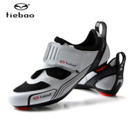 Tiebao Men's Cycling Shoes Road Bike Bicycle Shoes For Look Shimano SPD-SL Look