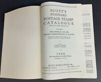 Scott 1956 Standard Postage Stamp Catalogue, Combined Edition