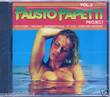 Fausto Papetti vol.2 (2005) CD NUOVO La solitudine. Unforgettable. Corazon Espin