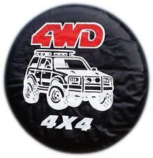 Mistubishi RAV4 Jimmy Hummer Isuzu housse de pneu 4x4 VW de roue de secours 4WD