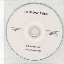 (DV141) The Birdman Rallies, Telescope Katie - DJ CD