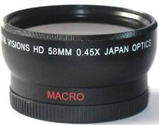 Digital Vision Wide Angle Lens for Canon XF205 XF200 XF105 XF100 Camcorder