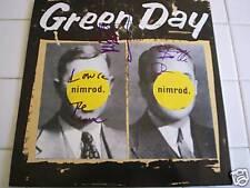 BILLIE JOE/GREEN DAY SIGNED NIMROD LP BY ALL 3 PROOF!