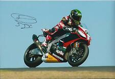 Eugene LAVERTY Signed 12x8 Photo APRILIA Racing Team AFTAL COA Autograph Genuine