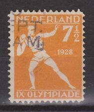 NVPH Netherlands Nederland nr 216 used Olympiade Amsterdam 1928 Pays Bas