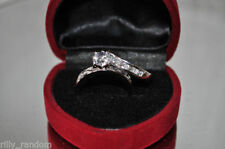 Rhinestone Engagement Costume Rings