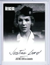 The Avengers Complete Collection Autograph Trading Card Series 1 - Unstoppable