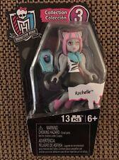 H3 Mega Bloks Ghouls Skullection Monster High Rochelle Figure (Series 3)