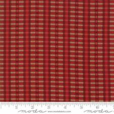 Moda New Hope Plaid Red 100% cotton Fabric FQ/Metre Patchwork Quilting