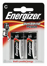 Eveready Energizer Alkaline Power C X 2 S8994