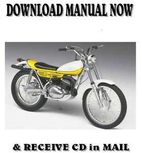 Ty250 Motorcycle Repair Manuals Literature For Sale Ebay