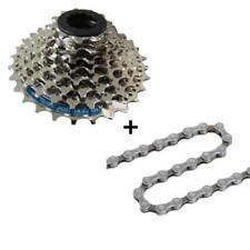 Fahrrad Verschleißset Kassette 8 fach Shimano HG40 Kette + Kassette Komplettset