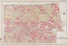 ORG 1908 BROOKLYN NY BEDFORD STUYVESANT PS 24, 55, 79 & 148 ST AMBROSE ATLAS MAP