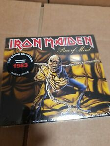 IRON MAIDEN - PIECE OF MIND (REMASTERED) DIGIPAK CD ALBUM - NEW SEALED