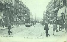 Tram La Cannebière, Marseille France unused P. Ruat 1900s Postcard