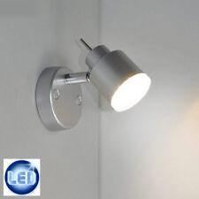LED lámpara pared, reflectora, de techo, Spot PLATA 4w Reflector Briloner