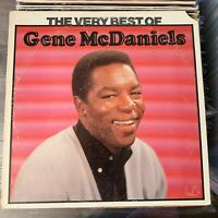 Gene McDaniels -Very Best Of - OG 1975 U.A. Records vinyl LP VG - FUNK SOUL R&B
