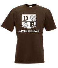 Herren T-Shirt  David Brown I Traktor I Sprüche I Fun I Lustig bis 5XL