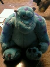 "Disney Store Monsters Inc Sulley stuffed animal 15"" EUC"