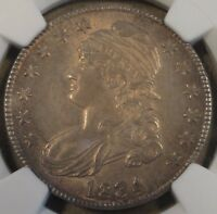 1834 Capped Bust Half Dollar 50c NGC Certified MS63