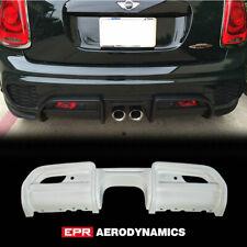 For Mini F56 JCW Style FRP Fiber Rear Bumper Diffuser Lip kit(Replacement kit)