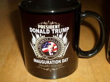 President Donald Trump - Inauguration Day: January 20, 2017, Ceramic Coffee Cup