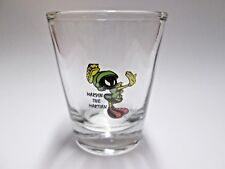 MARVIN THE MARTIAN ~ STOP ~ SHOT GLASS ~VERY COOL~