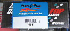 BRAND NEW 598 FDP REAR DRUM BRAKE SHOE SET FITS 1988-1997 FORD MAZDA MERCURY