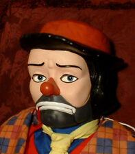 "HAUNTED Ventriloquist Doll ""EYES FOLLOW YOU""  Creepy Clown mask Dummy Curiosity"