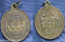 SAGRADA FAMILIAS PREGA POR NOS OTROS CORAZONES DE JESUS DE MARIA Y DE JOSE