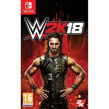 WWE 2k18 Nintendo Switch Official UK PAL 2018