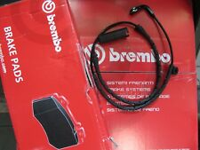 Brembo Brake Pads with Warning Contact Audi A6/C7 and A7 Set for Rear