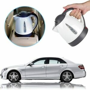12V Car Electric Heating Kettle Water Boiler Thermoses Travel Coffee Boiling Cup