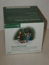 Dept 56-56691 Maestro And His Protege New England Village Series