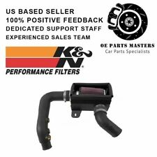 K&N For 2013-14 Fiat 500 Abarth L4 1.4L Turbo Aircharger Perf Intake Kit 63-1700