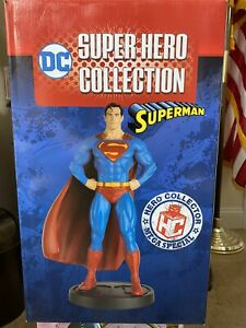 Eaglemoss Superman Super Hero Collection Mega Special Statue 13.5 Inches Tall